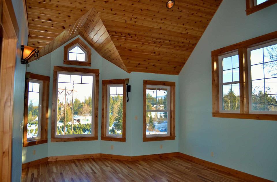 Custom Wood Master Bedroom