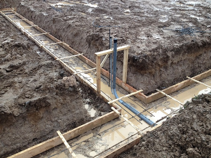 Concrete Footers Stem Wall Ad Slabs Scott Herndon Homes