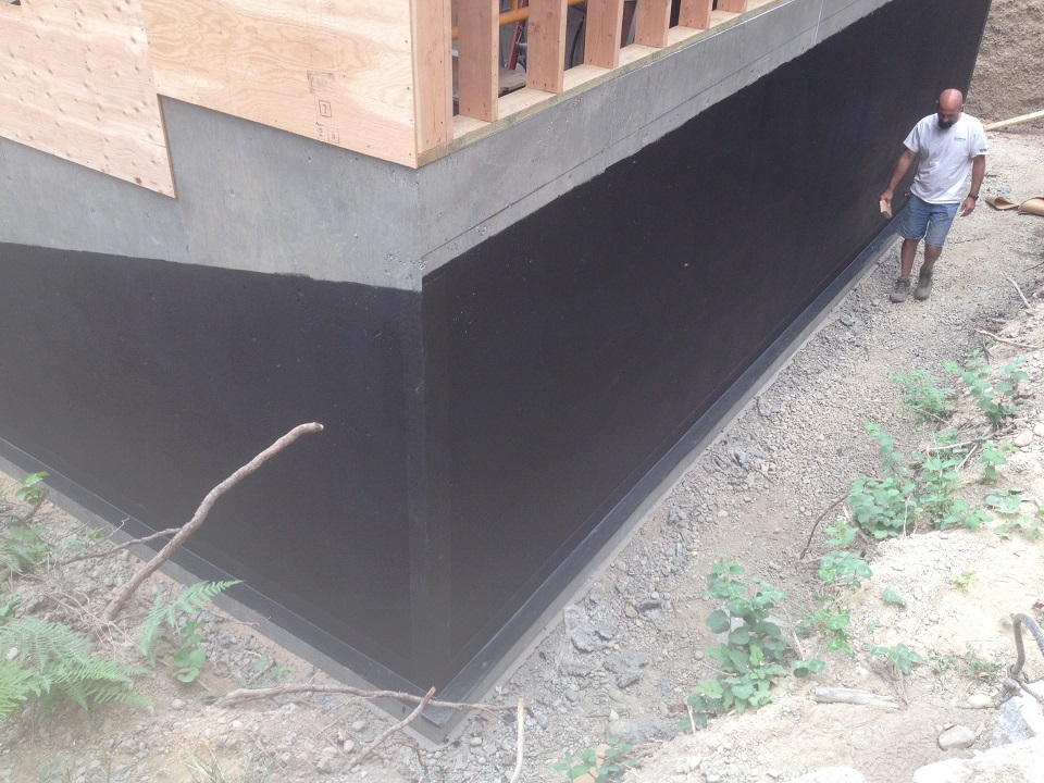 Detail Concrete Wall Waterproofing Protection : Concrete foundations basement waterproofing scott
