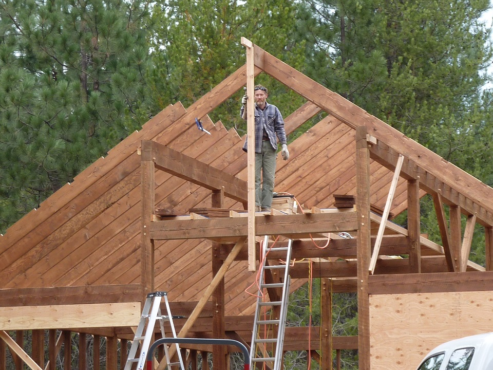 Sandpoint Barn and Shop Contractor | Scott Herndon Homes | Barn