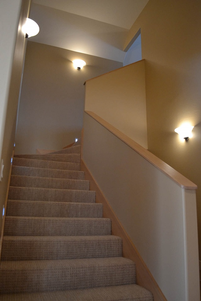 Stairs to bonus room